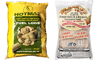 HOTMAX Fuel logs & Blazers fuel logs by the bag